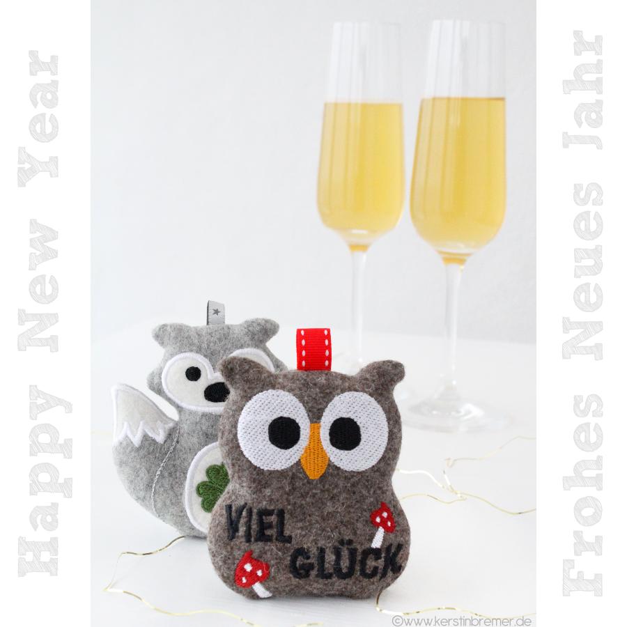 Happy New Year – Frohes Neues Jahr ♥