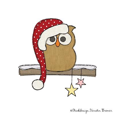 Winter und Weihnachtliche Doodle Stickmuster – Unser November 2015